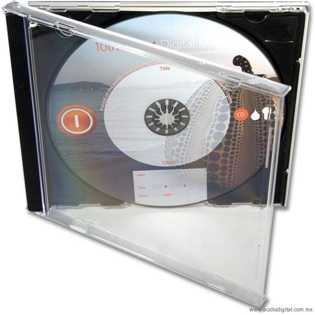 Maquila y Fabricación de CD Jewel
